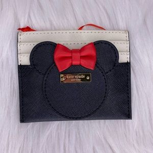 ♠️♥️ Kate Spade ♥️♠️Disney Minnie Mouse Card Case